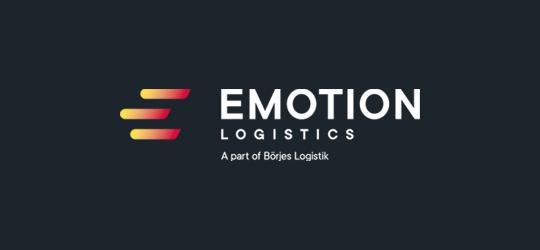 Emotion Logistics logga negativ